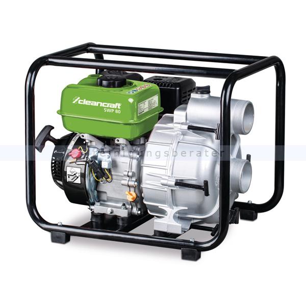 Wasserpumpe Cleancraft SWP 80 Schmutzwasserpumpe Leistungsstark und zuverlässig im Dauerbetrieb 7500180
