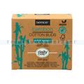 Wattestäbchen Bambus 200er Papierschachtel