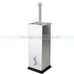 WC-Garnitur BRINOX Orgavente Wandmontage Edelstahl gebürstet