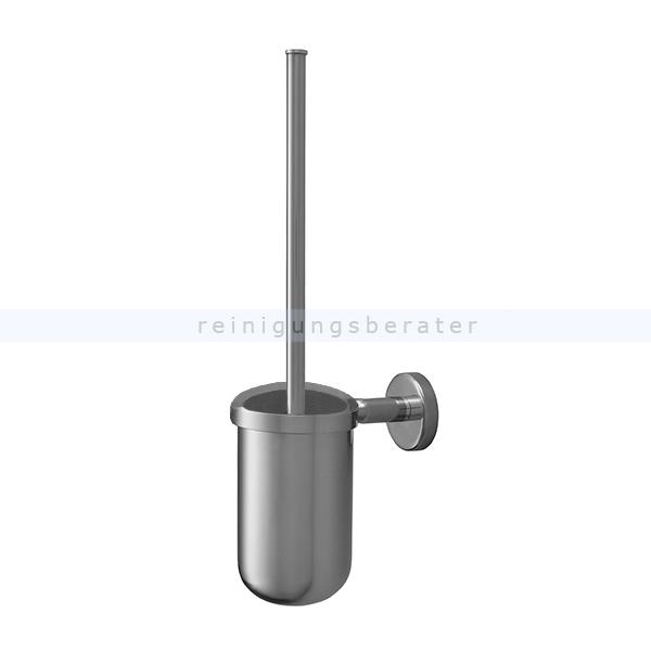 wc garnitur haug edelstahl wandgarnitur mit rundb rste. Black Bedroom Furniture Sets. Home Design Ideas