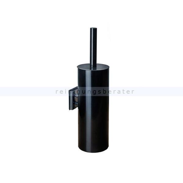WC-Garnitur Simex Black Line Wandmontage Edelstahl schwarz