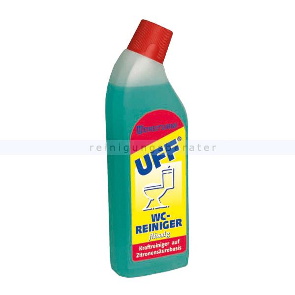 WC-Reiniger flüssig Dreiturm UFF 750 ml hochaktiver umweltverträglicher WC Reiniger 4381