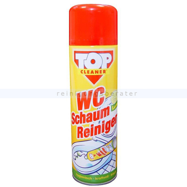 WC-Reiniger Top Cleaner WC Power-Schaum Lemon 500 ml