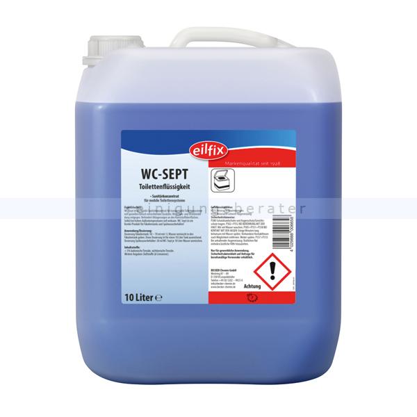 WC Reiniger Konzentrat Becker Chemie WC-Sept 10 L