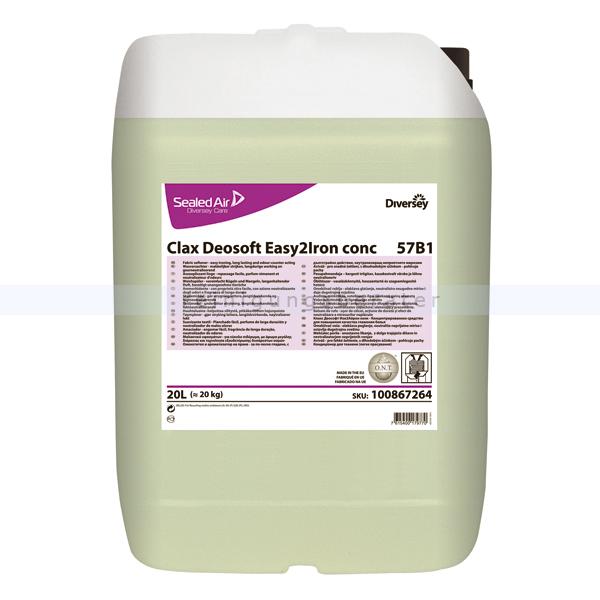 Weichspüler Diversey Clax Deosoft Easy2Iron conc 57B1 5 L Bügelfreundlicher Weichspüler