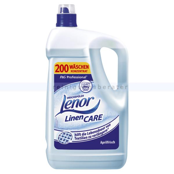 Procter and Gamble P&G Lenor Professional Weichspüler Aprilfrisch 5 L Weichspüler Konzentrat für frischen Duft PROFLE6705