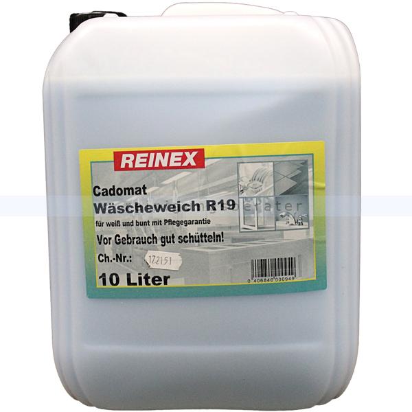 Weichspüler Reinex Cadomat R19 Wäscheweich 10 L Weichspüler für Bunt und Weißwäsche. 518