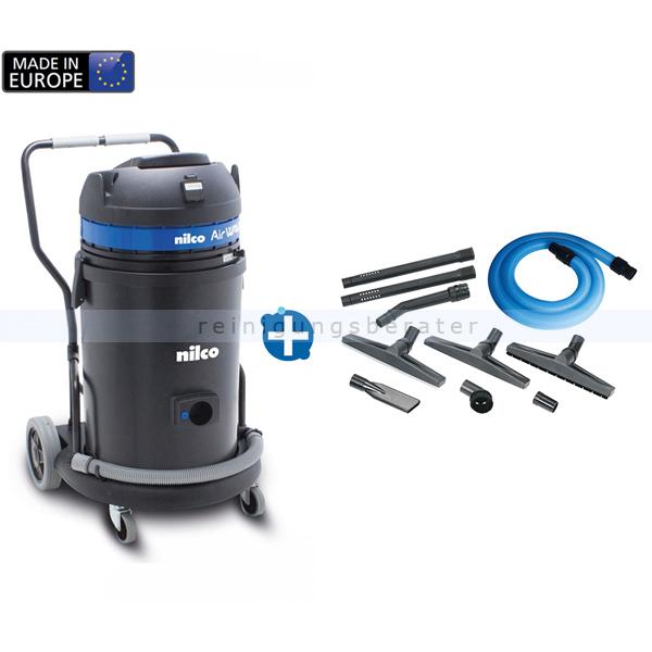 Der Handwerker Nilco IC Crafter Nass- und Trockensauger mit Gerätesteckdose (Einschaltautomatik) und Filterrüttler 3298003