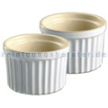 Wesco BAKE N HOT Soufflée-Form 2er Set mandel