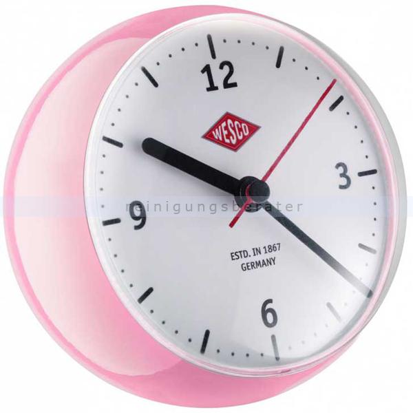 wesco mini clock k chenuhr pink 322411 26. Black Bedroom Furniture Sets. Home Design Ideas