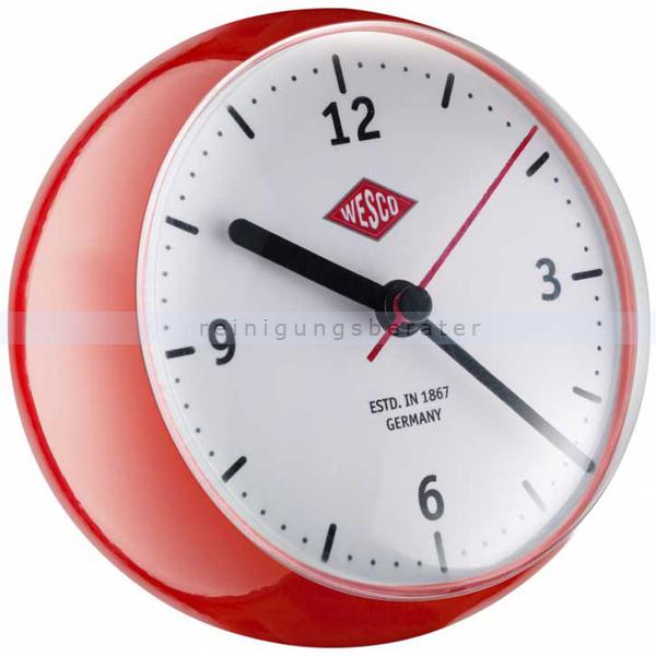 wesco mini clock k chenuhr rot 322411 02. Black Bedroom Furniture Sets. Home Design Ideas