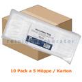 Wischmop Abena Microfasermop Standard Mopp weiß 40 cm Karton