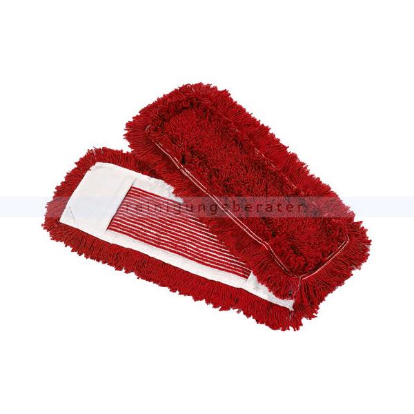 Wischmop aus Baumwolle Mopptex getuftet 40 cm rot