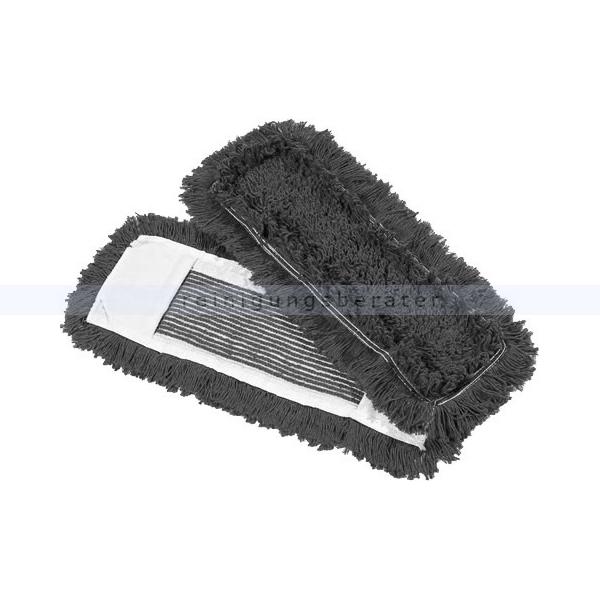 Wischmop aus Baumwolle Mopptex getuftet 50 cm grau