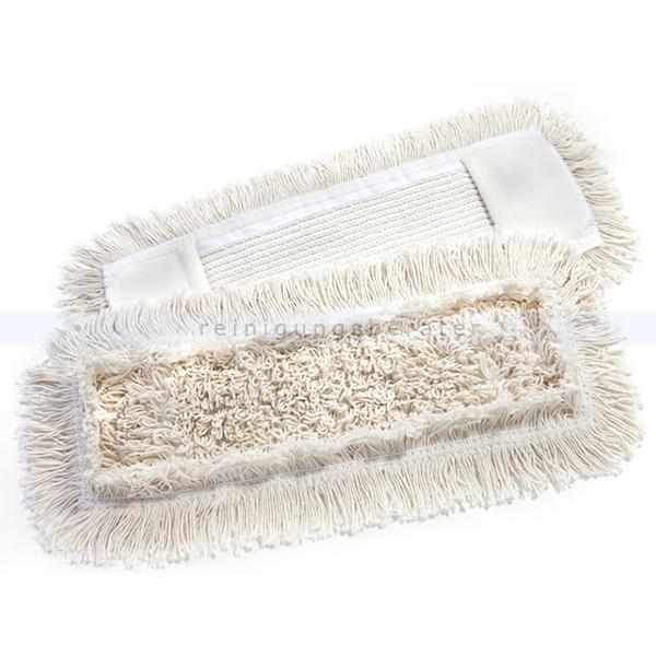 Wischmop aus Baumwolle Mopptex getuftet 50 cm weiß
