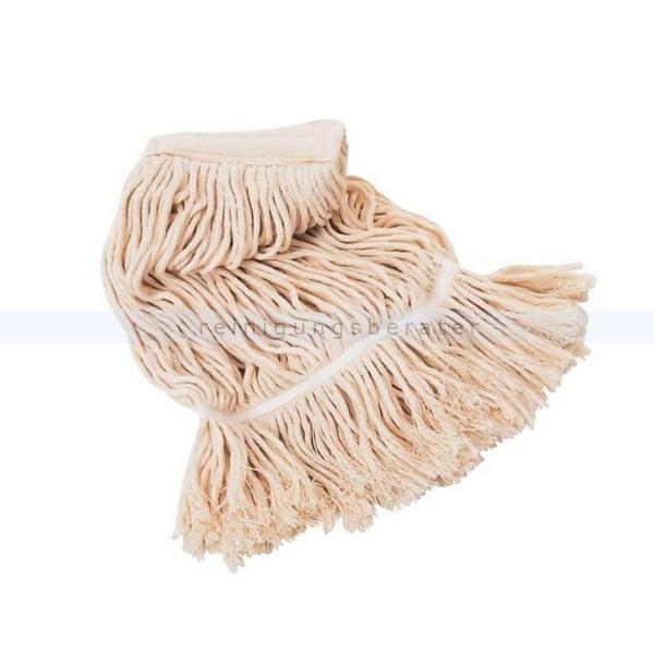 Wischmop aus Baumwolle und Polyester Meiko mit Band 450 g Baumwollmop aus Baumwoll- und Polyestergemisch 937025