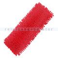 Wischmop Chenille Microfaser Mopp rot 90 Grad waschbar 40 cm