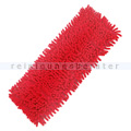 Wischmop Chenille Microfaser Mopp rot 90 Grad waschbar 50 cm