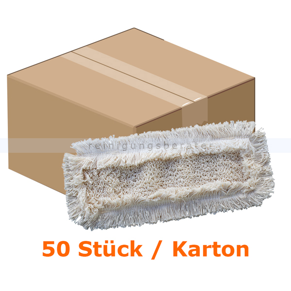 50 st ck baumwollwischmop wischmop meiko mastermopp light 50 cm baumwollmop ebay. Black Bedroom Furniture Sets. Home Design Ideas
