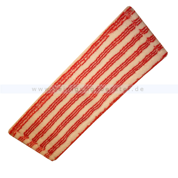 Wischmop Meiko Micro-Borstenmopp sani correct rot-weiß 50 cm
