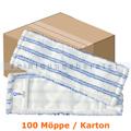 Wischmop MopKnight Kobold Borste 50 cm weiß Karton