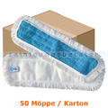 Wischmop MopKnight Mikrofaser Klett Mop 40 cm Karton