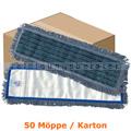 Wischmop MopKnight Mikrofaser Mop Borste 50 cm Karton
