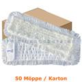 Wischmop MopKnight Ryan Yarn Mop weiß 50 cm Karton