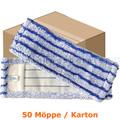 Wischmop MopKnight Speed Runner Mop blau 40 cm Karton
