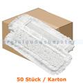 Wischmop Mopptex Aquamax Mikrofasermopp weiß 40 cm Karton