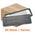 Zusatzbild Wischmop Mopptex Microfasermop Professional 40 cm grau Kart.