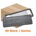 Wischmop Mopptex Microfasermop Professional 50 cm grau Kart.