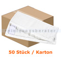 Wischmop Mopptex Microfasermop PROFESSIONAL weiß 40 cm Karton
