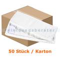 Wischmop Mopptex Microfasermop PROFESSIONAL weiß 50 cm Karton