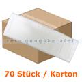 Wischmop Mopptex Microfasermop Super Eco weiss 40 cm Karton