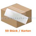 Wischmop Mopptex Microfasermop Super Eco weiss 50 cm Karton