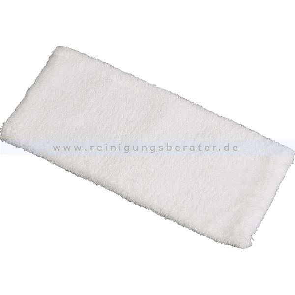 Wischmop Vermop Scandic Mono White Magic ohne Fransen 28 cm elektrostatische Faser für die Feucht- und Trockenreinigung 1412985