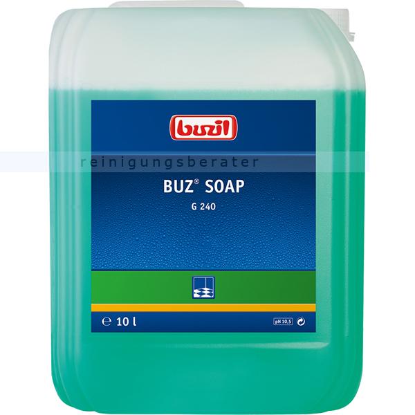 Wischpflege Buzil G240 BUZ Soap Seifenreiniger-Konz. 10 L Seifenwischglanz antistatisch G240-0010R1