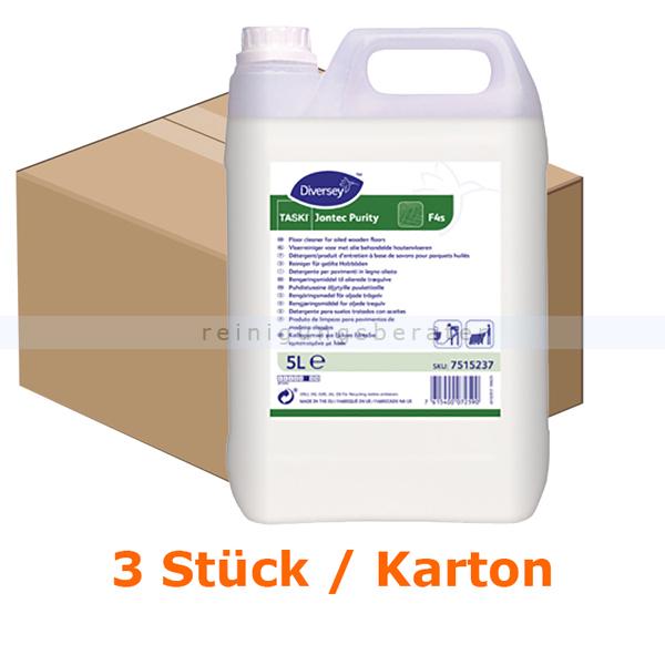 TASKI Jontec Purity 3 x 5 L Holzbodenseife Rückfettender Seifenreiniger für geölte Holzböden 7515237