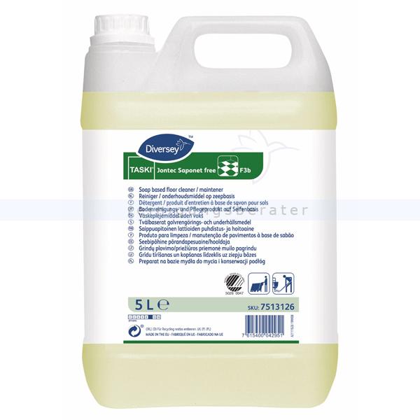 TASKI Jontec Saponet free 5 L Reinigungs- und Pflegeprodukt, auf Basis von Seife 7513126