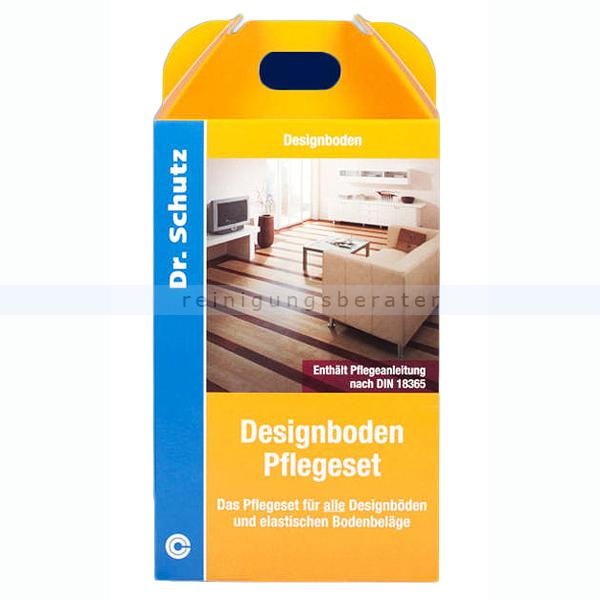Wischpflege Dr. Schutz Designboden Pflegeset 750 ml Empfohlen und freigegeben für alle Designböden 726075005