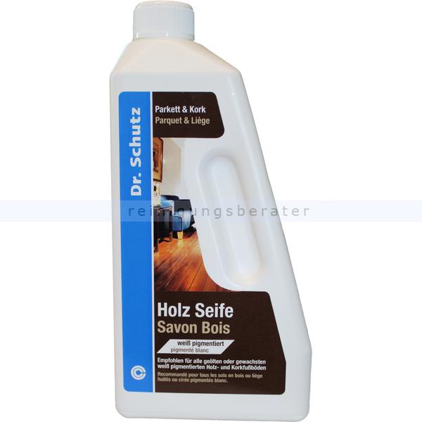 Wischpflege Dr. Schutz Pflegemittel Holzseife weiß 750 ml für gewachste und geölte Parkett- und Korkböden 0181075005