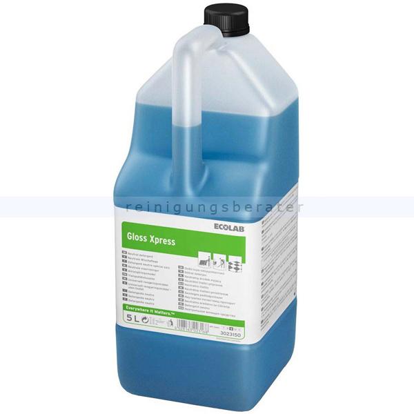 Wischpflege Ecolab GlossExpress 5 L