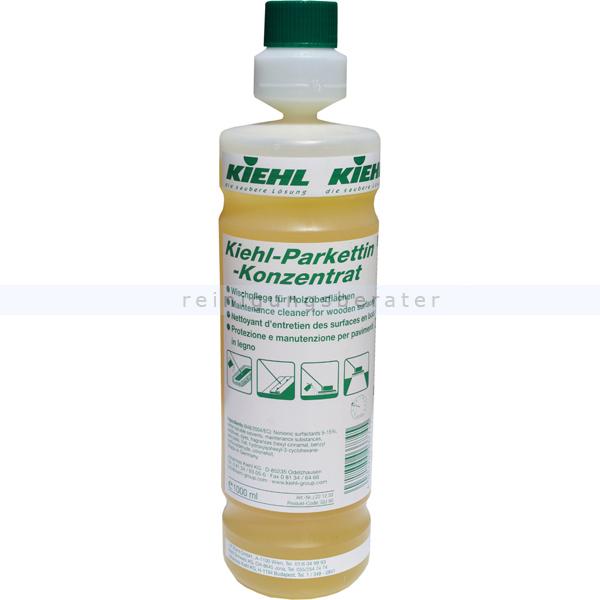 Wischpflege Kiehl Parkettin Konzentrat 1 L vielseitige Parkettwischpflege für Holzoberflächen j221202