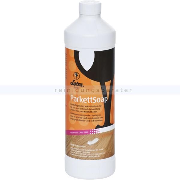 Wischpflege LobaCare Holzbodenseife ParkettSoap 1 L Reinigungs- und Pflegeseife für Parkett 10048-15