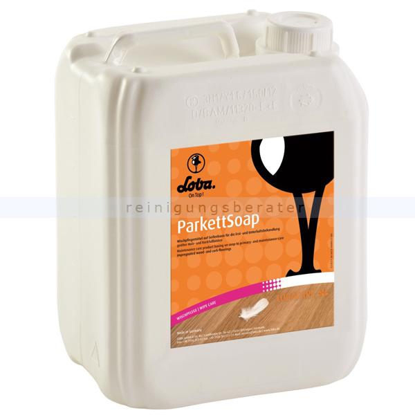 Wischpflege Holzbodenseife LobaCare ParkettSoap 5 L Reinigungs- und Pflegeseife für Parkett 10048-22