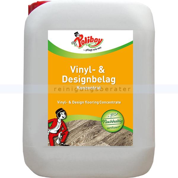 Wischpflege Poliboy Vinyl & Designbelag Pflege 5 L Reinigung und Pflege von Kunststoffböden 57L0501