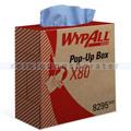 Wischtuch Kimberly Clark WYPALL X80 Zupfbox Stahlblau