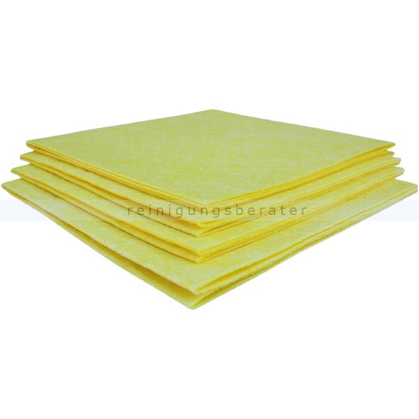 Wischtuch Meiko Allzweckvlies gelb 38x38 cm