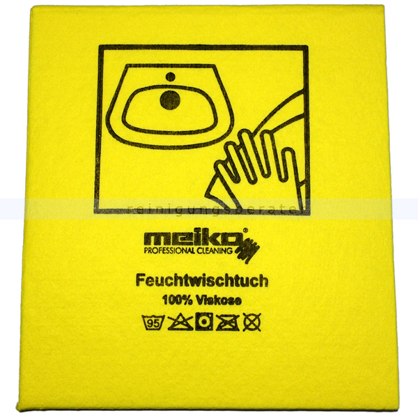 Wischtuch Meiko Feuchtwischtuch gelb 35x40 cm